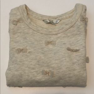 Lauren Conrad top with bow accents